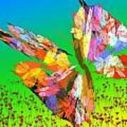 Bright Elusive Butterflys Of Love Art Print