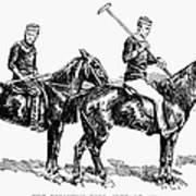 Brighton Polo Club, 1877 Art Print