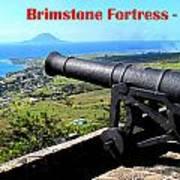 Brimstone Fortress Poster Art Print