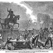Bristol: Reform Riot, 1831 Art Print