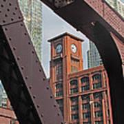 Britannica Building Chicago Illinois Art Print