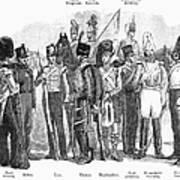British Army, 1855 Art Print