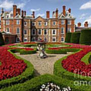 British Garden  Art Print
