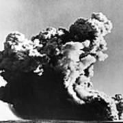 British Nuclear Test, 1952 Art Print