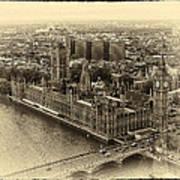 British Parliment Art Print