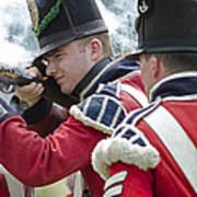 British Soldier Shooting Art Print