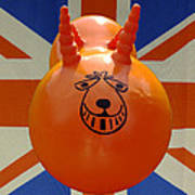 British Space Hopper Art Print
