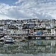 Brixham Harbour - Panorama Art Print