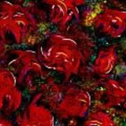 Broken Roses Art Print