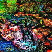 Brook Texture 133 Art Print
