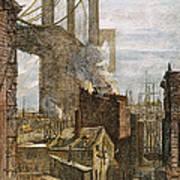 Brooklyn Bridge, 1882 Art Print