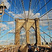 Brooklyn Bridge Summer Art Print