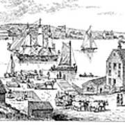 Brooklyn Ferry, C1765 Art Print