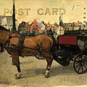 Brugge Carriage Art Print