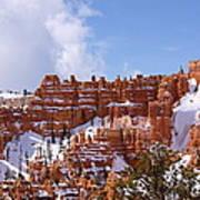 Bryce Canyon Castles Art Print