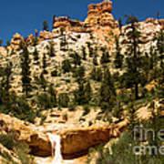 Bryce Water Canyon Art Print