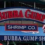 Bubba Gump Art Print