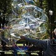 Bubble Blowr Of Central Park Art Print