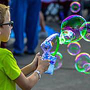 Bubble Boy Art Print