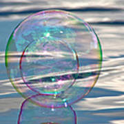 Bubble In A Bubble Art Print