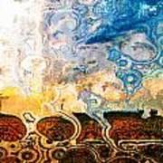 Bubble Landscape Abstract Art Print