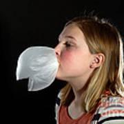 Bubblegum Bubble 4 Of 6 Art Print