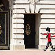 Buckingham Palace Guards Art Print