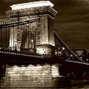 Budapest Nights Art Print