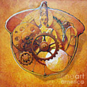 Buddah In An Acorn Art Print
