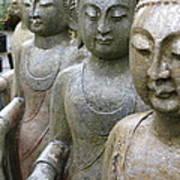 Buddha City2 Art Print