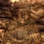 Buddha High Art Print