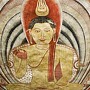 Buddha Painting In Sri Lanka Art Print