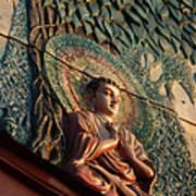 Buddha Relief Art Print