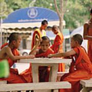 Buddhist Childhood Art Print