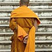 Buddhist Monk 2 Art Print