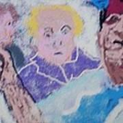 Buddy Have  Drink Art Print by Jay Manne-Crusoe