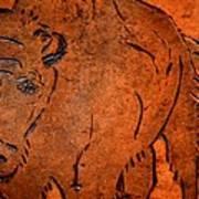 Buffalo Art Art Print
