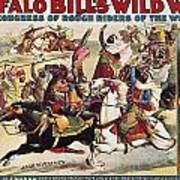 Buffalo Bill: Poster, 1899 Art Print