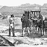 Buffalo Hunting, 1874 Art Print