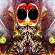 Bug Eyes Art Print by Skip Nall
