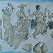 Buganda Musical Art Print