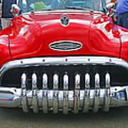 Buick With Teeth Art Print