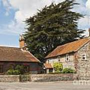 Building Houses Traditional Weybourne Norfolk Art Print