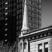 Building Steeple Art Print