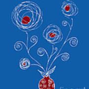 Bulb Flower Art Print