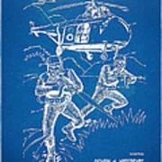 Bulletproof Patent Artwork 1968 Figure 15 Art Print