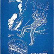 Bulletproof Patent Artwork 1968 Figures 16 To 17 Art Print