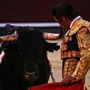 Bullfight Madrid Art Print