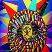 Bull's Eye Art Print