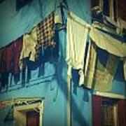 Burano - Laundry Art Print by Joana Kruse
